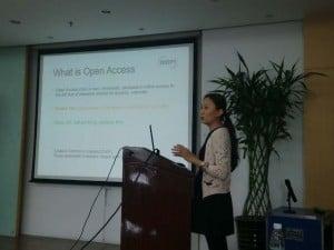 MDPI presenting in Beijing