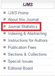 Journal Menu